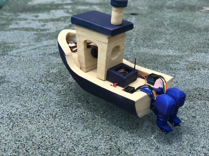 The Open Source Outboard 3D Print 150145