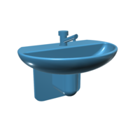 Small 1/10 scale garage sink 3D Printing 150157