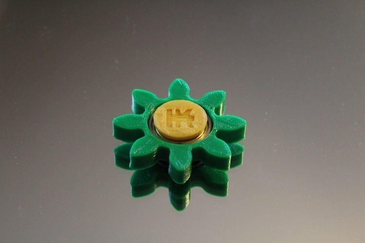 Gear/Flower Spinner 3D Print 150246