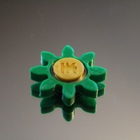 Small Gear/Flower Spinner 3D Printing 150246