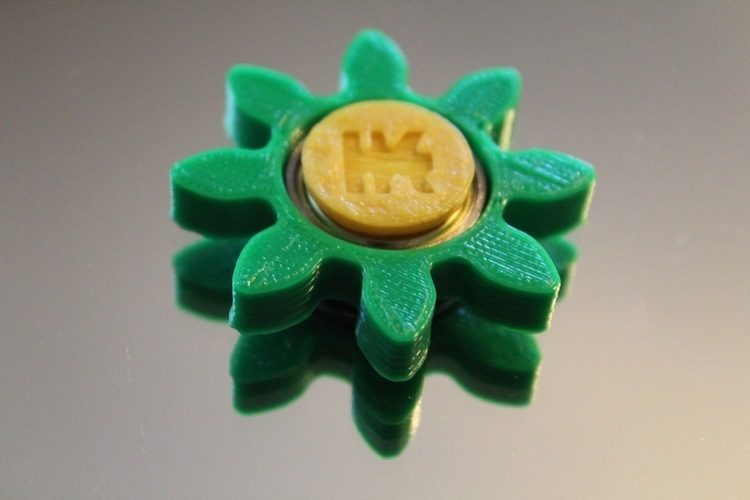 Gear/Flower Spinner 3D Print 150248