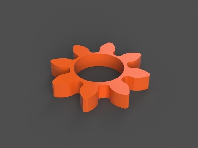 Gear/Flower Spinner 3D Print 150251