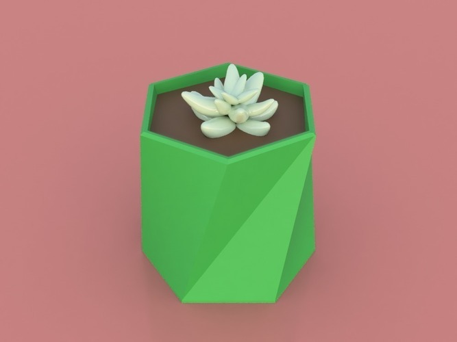 Twisted Vase Planter 3D Print 150268