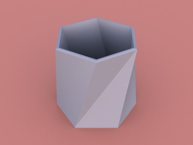 Twisted Vase Planter 3D Print 150269