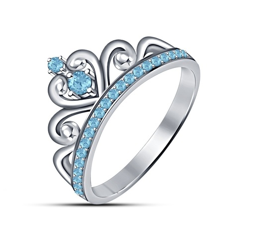 3D Jewelry CAD Model Of Beautiful Crown Ring 3D Print 150350