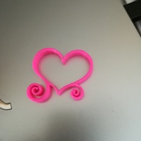 Small heart vorms 3D Printing 150385