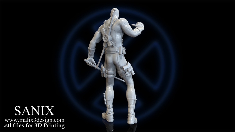 X-MEN Diorama - Deadpool / 3D model for 3D Printing  3D Print 150386