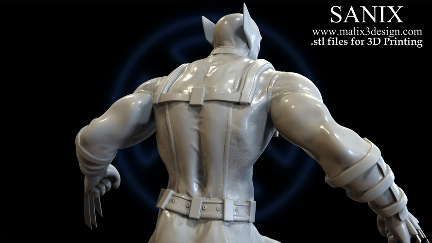 Connu 3D Printed X-MEN Diorama - Wolverine / 3D model for 3D Printing by  MH39