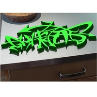 Small 3D DESIGN GRAFFITI BY MISS POWERFUL 3D Printing 150524