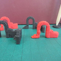 Small Archway for Gaming 3D Printing 150540
