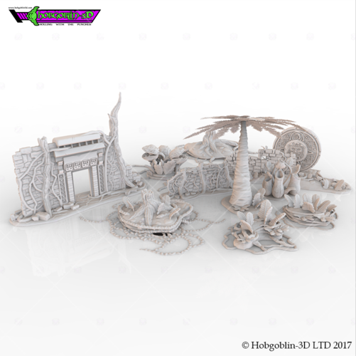 HG3D Deep Jungle Pack 3D Print 150557