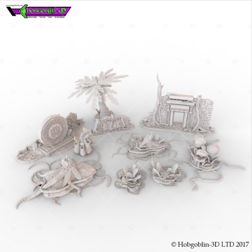 HG3D Deep Jungle Pack 3D Print 150558