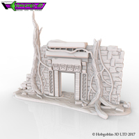 Small HG3D Overgrown Doorway 3D Printing 150566