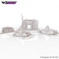 Small HG3D Overgrown Ruins Pack 3D Printing 150569
