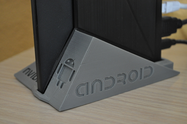 Nvidia Shield TV Stand basement 3D Print 150792