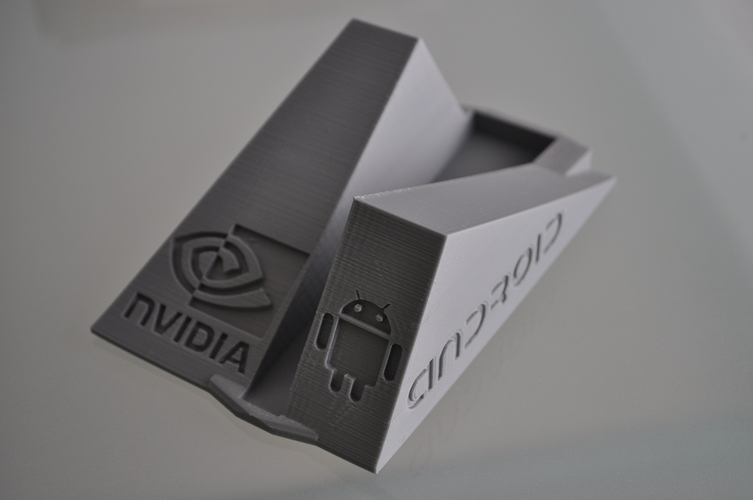 Nvidia Shield TV Stand basement 3D Print 150793