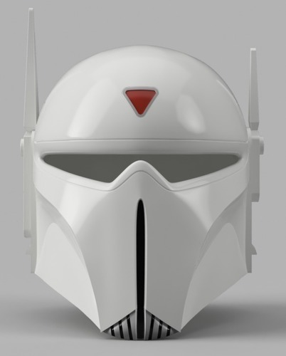 Imperial Super Commando Helmet (Star Wars) 3D Print 150880