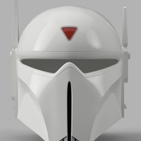 Small Imperial Super Commando Helmet (Star Wars) 3D Printing 150880