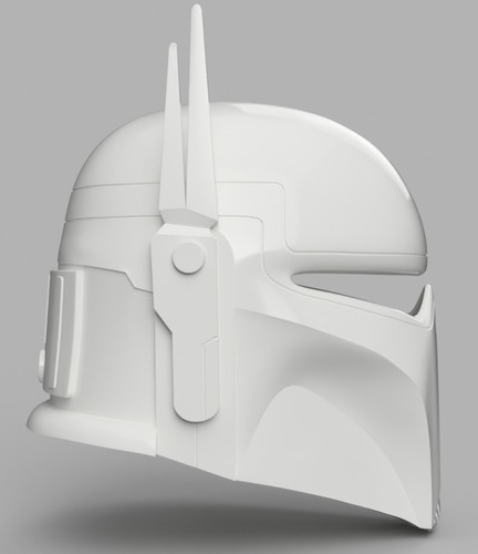 Imperial Super Commando Helmet (Star Wars) 3D Print 150881