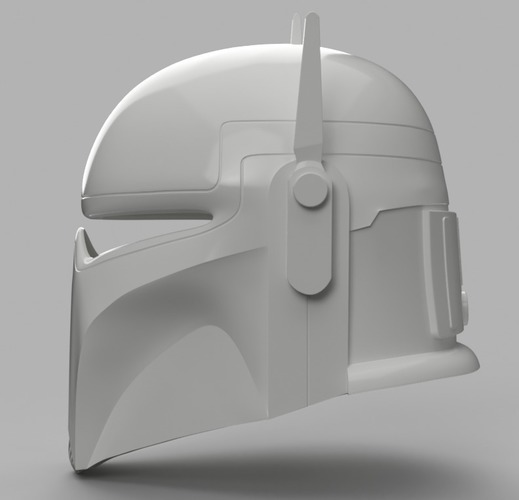 Imperial Super Commando Helmet (Star Wars) 3D Print 150882