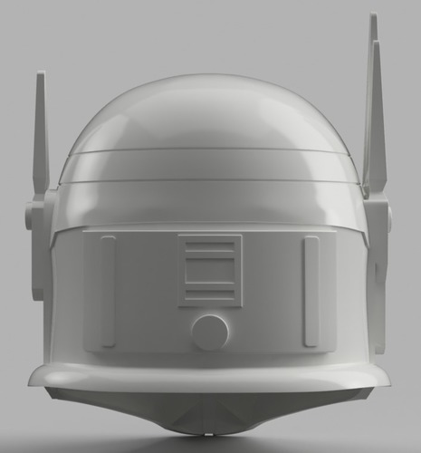 Imperial Super Commando Helmet (Star Wars) 3D Print 150883
