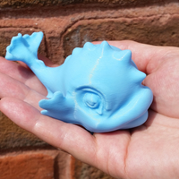 Small Baby Thames Dolphin Toy 3D Printing 150924