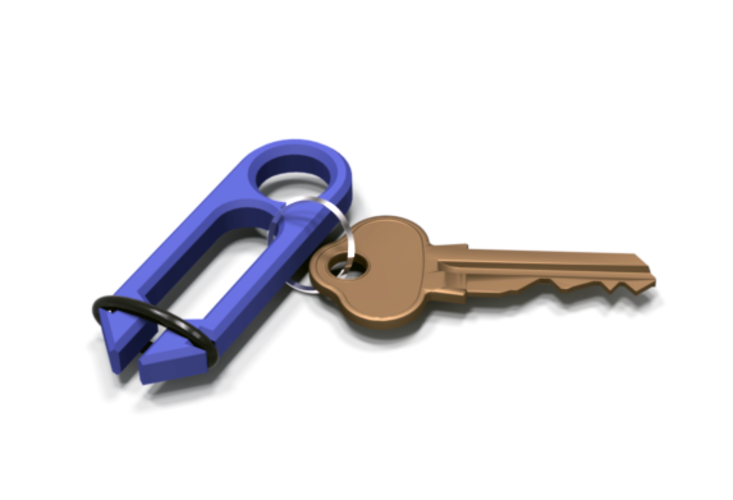 "The ""Key""per Key Organizer 3D Print 150949"