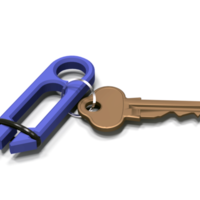 "Small The ""Key""per Key Organizer 3D Printing 150949"