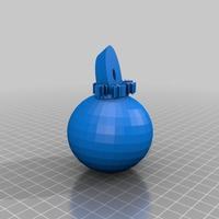 Small Gold xmas decoration wrl, x3d, slt,obj files 3D Printing 15095