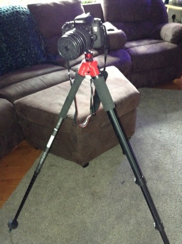Tripod adapter for monopod hiking sticks 3D Print 150965