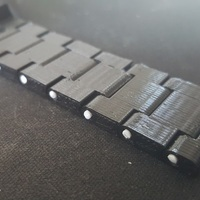 Small Thin watch band 3D Printing 150975