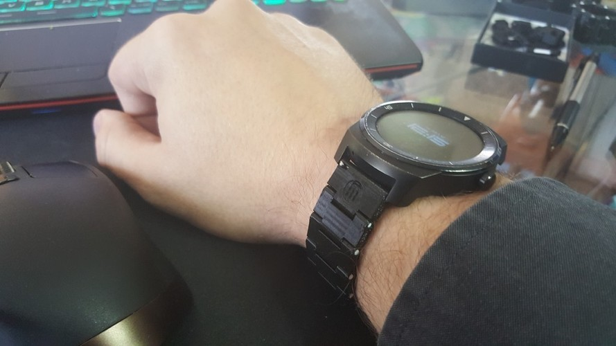 Thin watch band 3D Print 150976