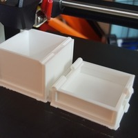 Small Minecraft single chest 3D Printing 150981