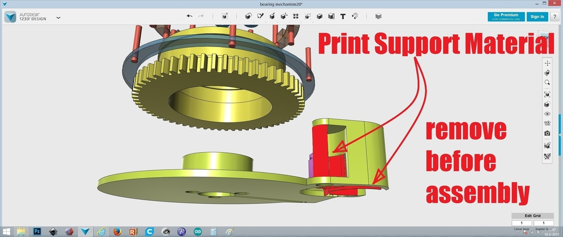 Bearing Mechanism Lamp 3D Print 151036