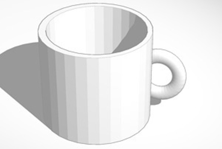 measure coffee mug 3D Print 15107