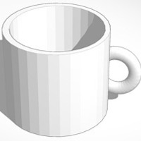 Small measure coffee mug 3D Printing 15107