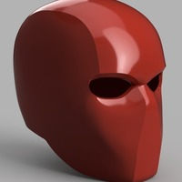 Small Red Hood Helmet (Batman) 3D Printing 151183