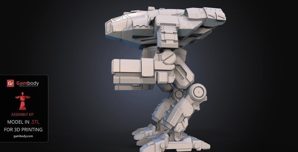 FanArt Battletech Marauder 3D Model Assembly Kit 3D Print 151204