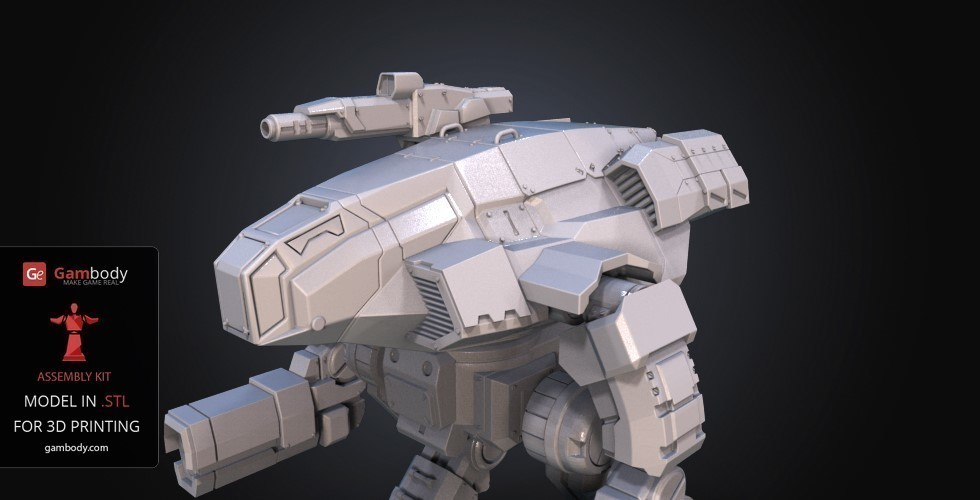 FanArt Battletech Marauder 3D Model Assembly Kit 3D Print 151207