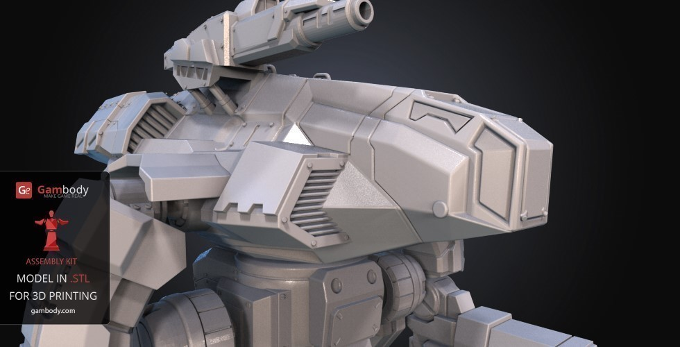 FanArt Battletech Marauder 3D Model Assembly Kit 3D Print 151210