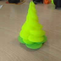Small Christmas Tree Isosurface 3D Printing 151221