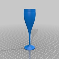 Small Champagne Flute 3D Printing 15124