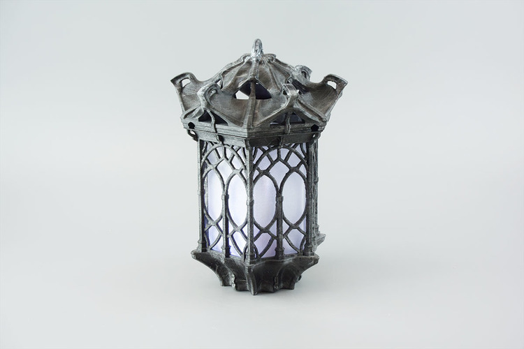 gothic lantern lighting. Gothic Lantern 3D Print 151243 Lighting