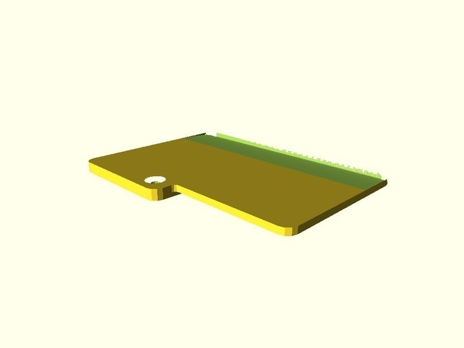 Nintendo DS battery cover 3D Print 151312