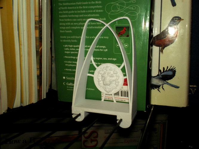Bakers Rack Bookends 3D Print 151423
