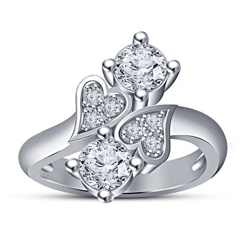 3d printed 3d cad model of heart design wedding ring by vr3d pinshape 3d cad model of heart design wedding ring 3d print 151457 junglespirit Images