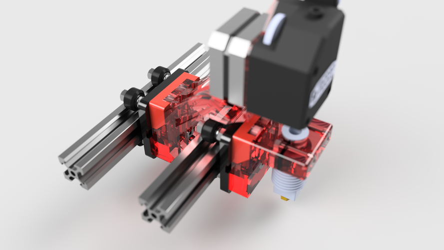 Cartesian flying extruder 3D Print 151547