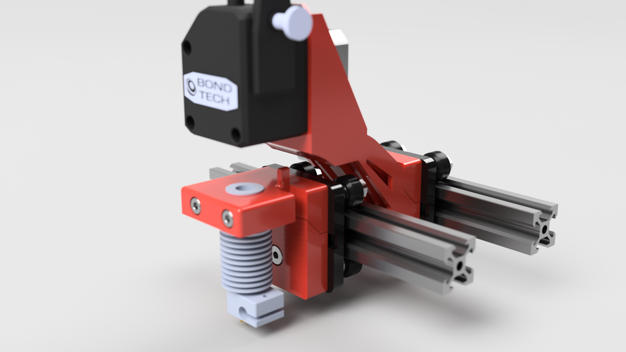 Cartesian flying extruder 3D Print 151549