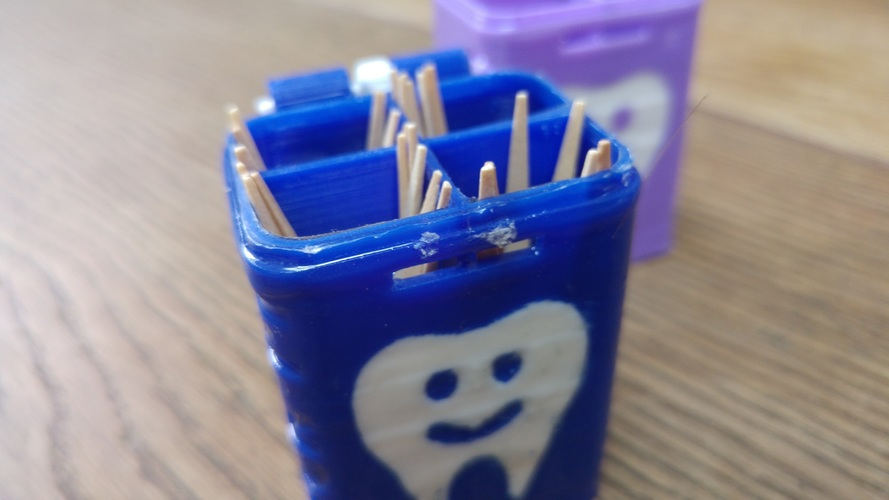 PICK 'M    (ToothPick Container) 3D Print 151624