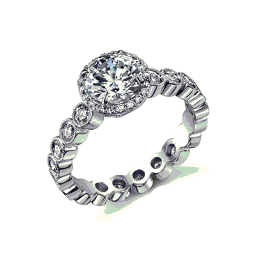 3D Jewelry CAD Design For Beautiful Wedding Ring 3D Print 151641